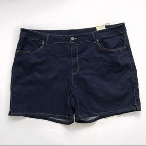 Faded Glory Denim jean short plus size 26W